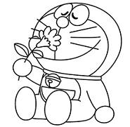 Cartoons Colouring Pages
